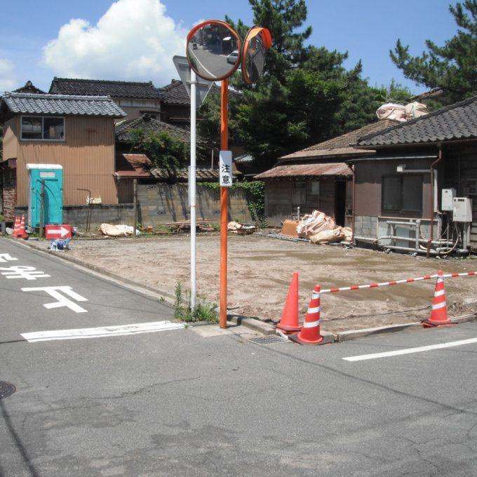 新潟市西蒲区 F様邸解体工事