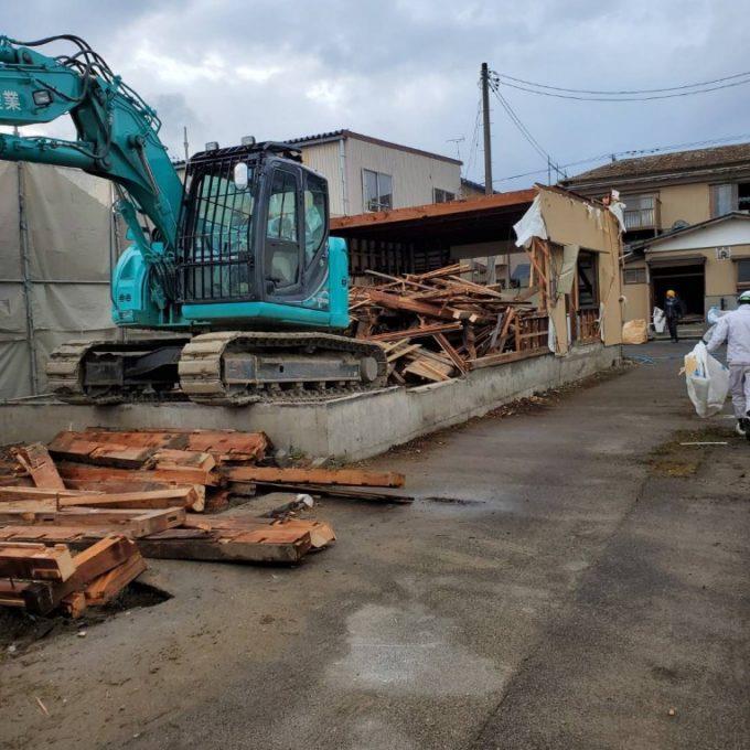 新潟市東区木造住宅他解体工事