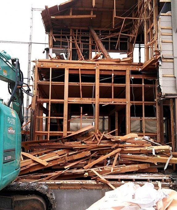 西区木造住宅解体工事