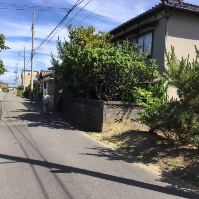 新潟市西区 木造住宅解体工事