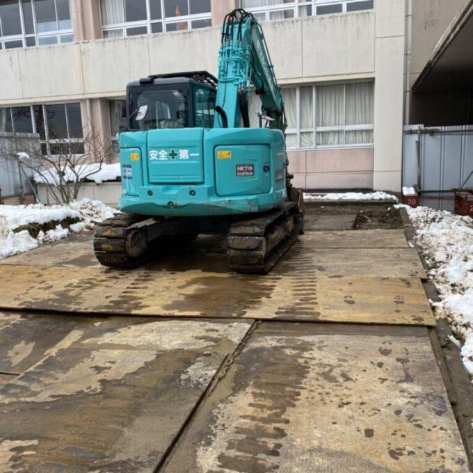南区浄化槽撤去解体工事
